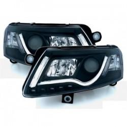 Audi A6 4F 04-08 XENON LightBar priekiniai žibintai juodi