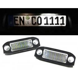 Volvo S40/S60/S80/V50/V70/XC60/XC70/XC90 LED numerio apšvietimas