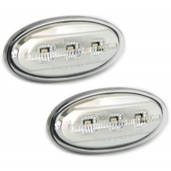 LED Šoninių posūkių komplektas skirtas Mazda 2 3 5 6 Skaidrūs