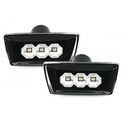 LED Šoniniai posūkiai skirti Opel Astra H  Corsa D  Insignia juodi