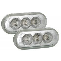 LED Šoniniai posūkiai skirti VW Seat Ford šviesūs