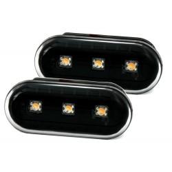 LED Šoniniai posūkiai skirti VW Seat Ford juodi