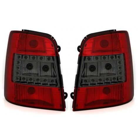 LED Galiniai žibintai skirti VW Touran 1T raudoni balti