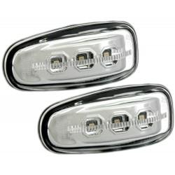 LED Šoninių posūkių komplektas skirtas Mercedes W210 Sprinter Vito šviesūs