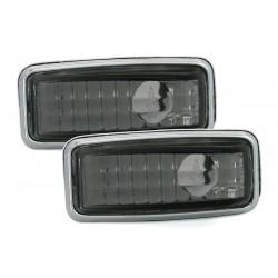 LED Šoninių posūkių komplektas skirtas Mercedes W124 W140 W201 W202 R129 tamsinti (smoke)