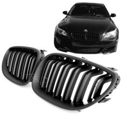 Priekinės grotelės be ženklo skirtos BMW 5 E60/E61 juodos