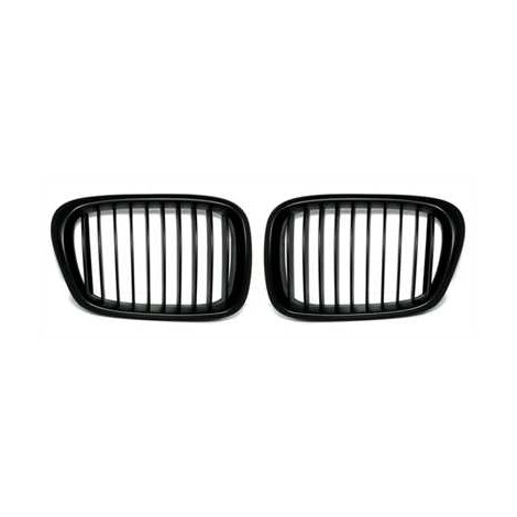 Priekinės grotelės be ženklo skirtos BMW 5 E39 juodos