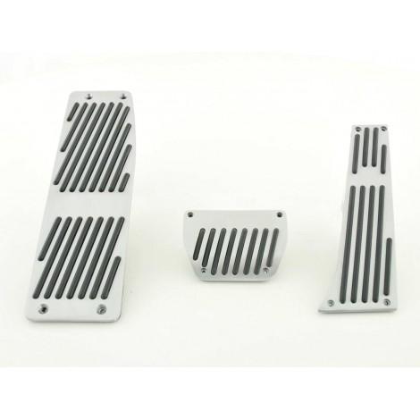 Pedalų apdailos komplektas skirtas BMW 1 E87 3 E46/E90/E91/E92 5 E39