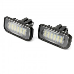 LED numerio apšvietimas skirtas MB C-Class W203 4D