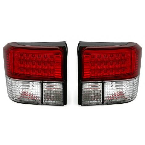 LED galinai žibintai skirti VW T4 raudona balta