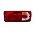 Galiniai žibintai skirti MB G-Class W463 raudona balta