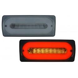 lightBar galiniai žibintai skirti MB G-Class W463 tamsinti (smoke)