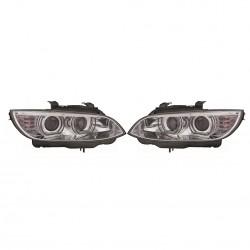 Angel eyes XENON priekiniai žibintai skirti BMW 3 E92 su AFS