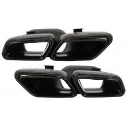 Duslintuvo antgaliai skirti MB W222 C217 W212 S212 W218 R231 E65 S65 SL65 AMG tipo juodi