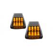 LED posūkio žibintai skirti MB G-Class W463 juodi