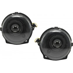 Priekiniai žibintai skirti MB G-Class W463 Bi-Xenon tipo juodi