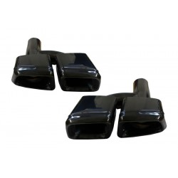 Duslintuvo antgaliai skirti MB E-Class S-Class ML CL SL CLS juodi S63 E63 AMG tipo