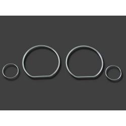 Spidometro žiedai skirti VW Golf 3 Vento Polo tamsinti