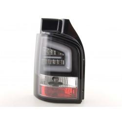 LightBar galiniai žibintai skirti VW T5 juodi