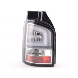 LightBar galiniai žibintai skirti VW T5 chromuoti