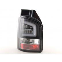 LightBar galiniai žibintai skirti VW T5 Facelift juodi