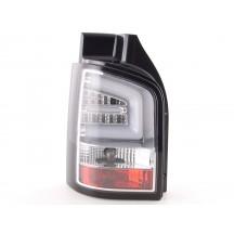 LightBar galiniai žibintai skirti VW T5 Facelift chromuoti