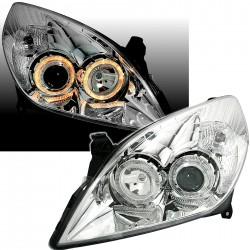 Angel Eyes priekiniai žibintai skirti Opel Vectra Signum Facelift