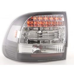 LED galiniai žibintai skirti Porsche Cayenne juodi