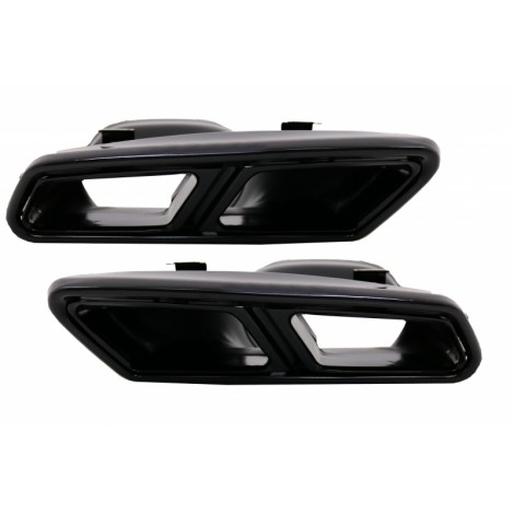 Duslintuvo antgaliai skirti MB W222 C217 W212 S212 W218 R231 E65 S65 SL65 AMG Design Black Exclusive Editon