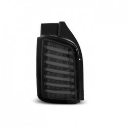 LightBar galiniai žibintai skirti VW T5 skaidrūs tamsinti  (smoke)