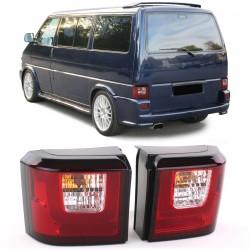 LightBar galinai žibintai skirti VW T4 raudona balta