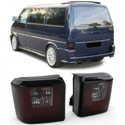 LightBar galinai žibintai skirti VW T4 raudona tamsinta
