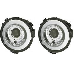 HELLA priekiniai žibintai skirti MB G-Class W463 Bi-Xenon su lemputėmis ir blokais